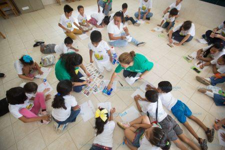 Niños y niñas tienen dos semanas para aprender con actividades divertidas