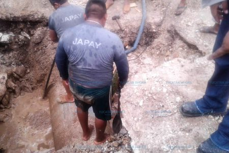 Suspenden suministro de agua potable en colonias de Mérida por trabajos de mantenimiento