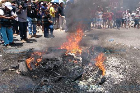 Panistas de Kanasín se rebelan tras supuesto robo de urnas