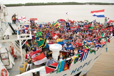 La biblioteca flotante más grande del mundo llega a Yucatán este jueves 19