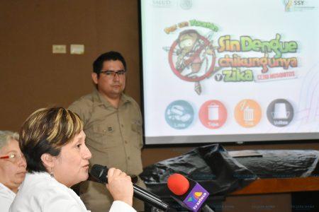 Preparan combate a los moscos a pesar de no haber registros de dengue, zika y chikungunya