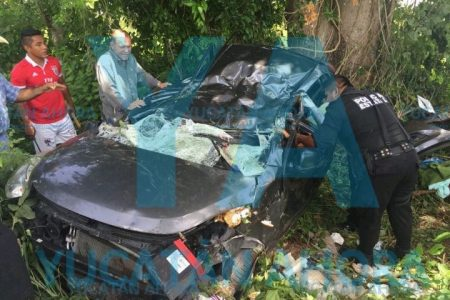 Tragedia carretera enluta a una familia meridana: muere jovencita de 13 años