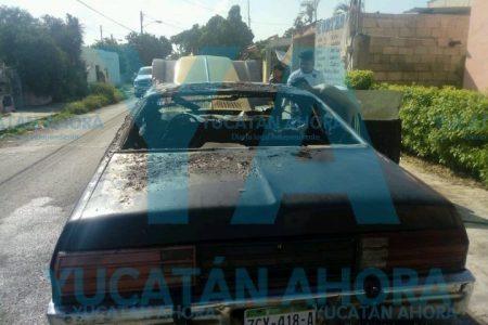 Reparación de su antiguo vehículo le salió más caro: lo quemó