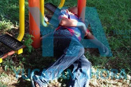 Pelea con su esposa e intenta ahorcarse en el parque de Villa Magna Poniente