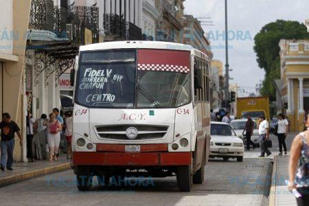 Mérida amanecería mañana sin transporte público