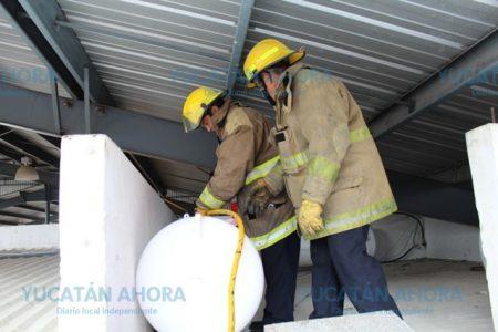 Se quema una farmacia en Chuburná: un cortocircuito la causa