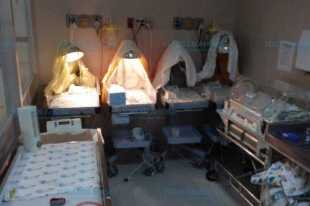 Sin aire acondicionado el área de pacientes embarazadas en el O'Horán