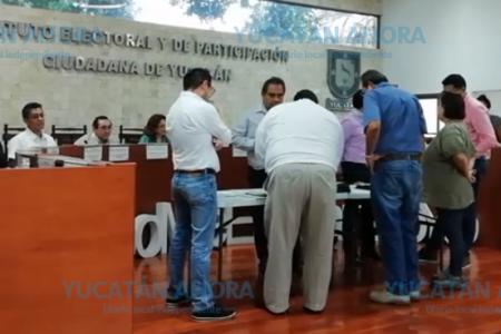 Hacen público recuento de votos de Sanahcat en sesión del Iepac