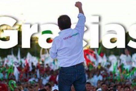 Mauricio Sahuí reconoce su derrota: la mayoría de los votos no le favorece