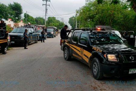 Liberan a 25 vándalos que atacaron a policías en Hunucmá