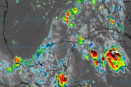 Pronóstico de lluvias para este martes en Yucatán