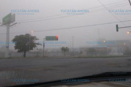Intensa neblina en Mérida y alrededores tras la turbonada