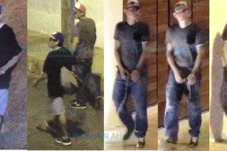 Ofrecen recompensa por un par de ladrones en el barrio de Santiago en Mérida