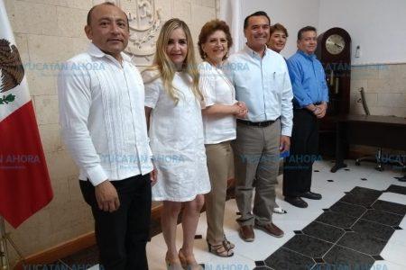 Primer encuentro rumbo a la transición en el Ayuntamiento de Mérida