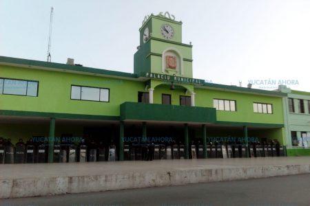 Resguardan palacio municipal de Kanasín ante inconformidad electoral