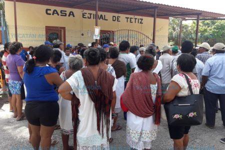 Acusan a ex comisario de 'desaparecer' 12 millones de pesos del ejido de Tetiz