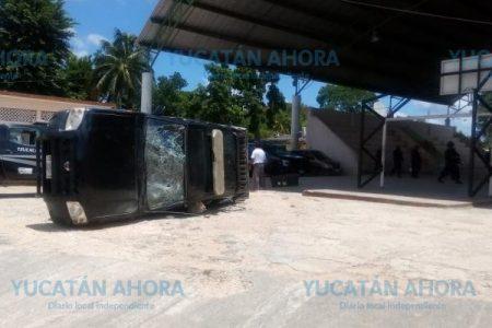 Violencia opaca manifestación para pedir justicia en Tzucacab