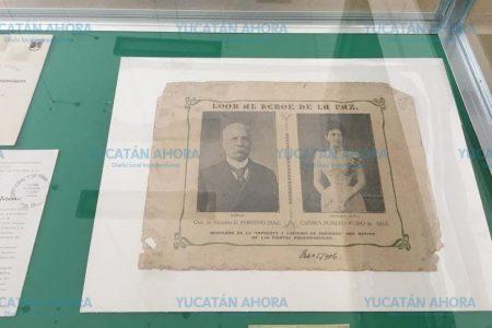 Ya puedes conocer los documentos oficiales por la visita de Porfirio Díaz a Yucatán