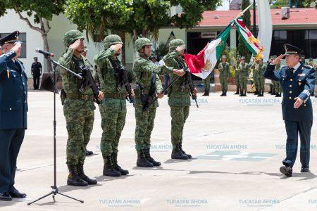 El general Francisco Aguilar Hernández asume el mando de la X Región Militar