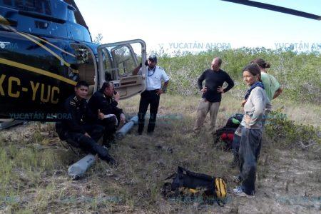 Localizan a tres extranjeros reportados como extraviados en el rumbo de Sisal
