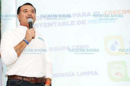 Los mejores 3 años de Mérida están por venir, afirma Renán Barrera