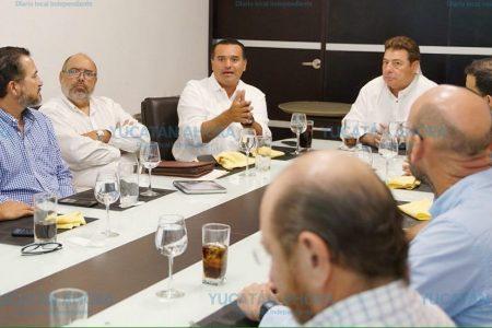 Alcalde electo sostiene reuniones para la planeación de Mérida