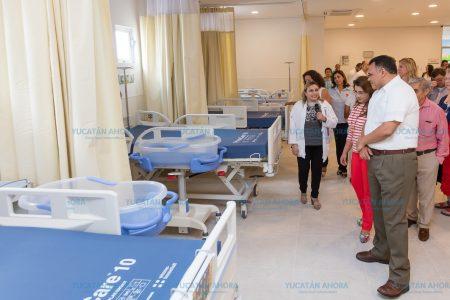 Que ahora sí, la última semana de agosto empieza a operar el nuevo Hospital Materno Infantil