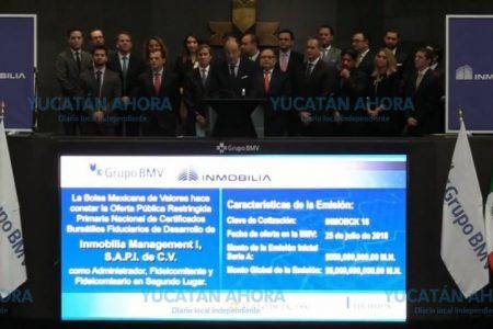 Grupo empresarial yucateco inicia bursatilización con campanazo en la BMV