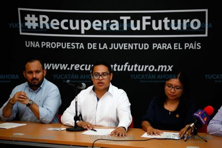 Líderes jóvenes de México se reunirán en Mérida a revisar acuerdos con AMLO