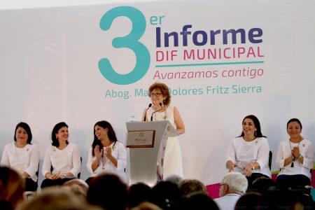 El DIF de Mérida contribuyó a reducir la brecha de desigualdad y fomentó la inclusión