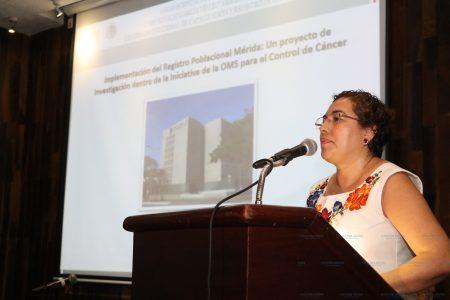 En Mérida decide OMS que se haga el primer registro contra el cáncer