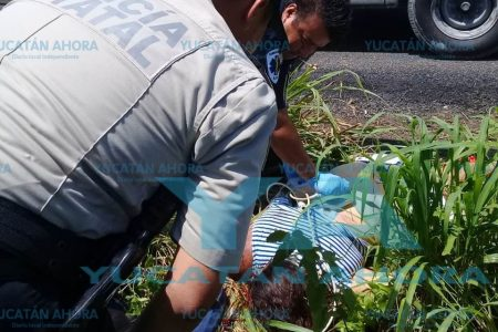 Trágico paseo de una familia meridana, muere en accidente mujer embarazada
