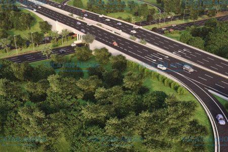 Mañana abren los carriles de ascenso y descenso del puente Mérida – Progreso