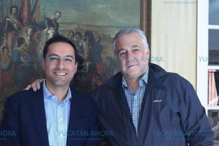 El Tren Transpenínsular motiva primer contacto entre Mauricio Vila y el futuro Secretario de Turismo