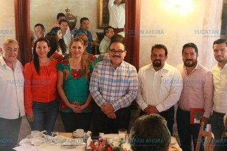 Muestra músculo político el senador electo Jorge Carlos Ramírez