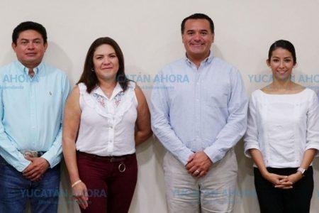 Pide Renán Barrera a diputados electos asumir juntos el reto por Mérida