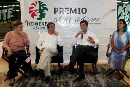 Convocan a comunicadores a participar en el Premio de Periodismo Heineken México en el Sureste