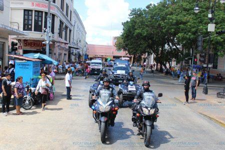 Más de 900 detenciones en el centro de Mérida durante vacaciones