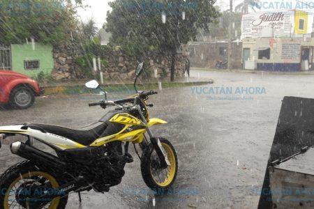 Lluvia fuerte por la baja presión, solo en el oriente de Yucatán por hoy