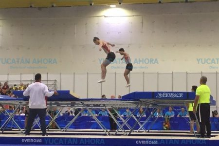 Yucateco logra oro y planta en gimnasia de trampolín, en Barranquilla 2018