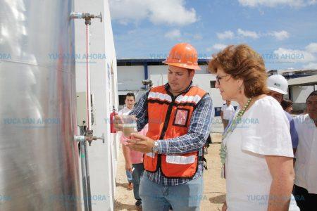 En marcha planta de tratamiento de aguas residuales en el Rastro de Mérida