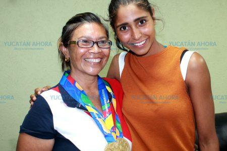Wendy Mayor y Regina Alférez, contentas de sus victorias en Barranquilla