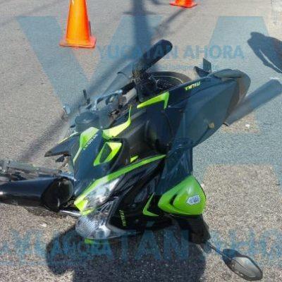 Fue 'tosca' con una motociclista en calles de Ciudad Caucel