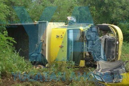 Nueva tragedia en la carretera Mérida-Campeche
