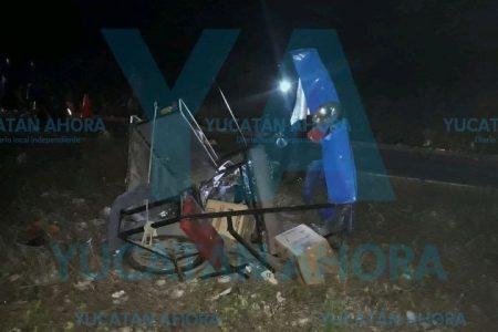 Vehículo fantasma embiste a madrina y ahijado: muere una mujer de 50 años