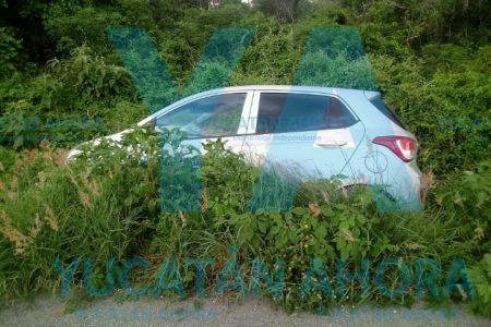 Vencido por el cansancio, le fue imposible llegar a Celestún en su auto