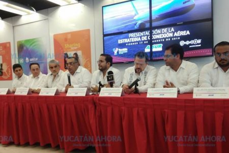 En octubre, nuevo vuelo Mérida-Bajío; se busca más conectividad interna