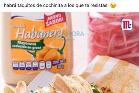 Yucatecos le dicen a McCormick: La cochinita no lleva mayonesa