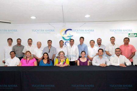 Mauricio Vila se reúne con el sector empresarial de Yucatán