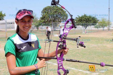 Joven tizimileña gana oro en tiro con arco, en Barranquilla 2018